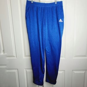 Adidas Essentials Climalite Blue Tapered Pants